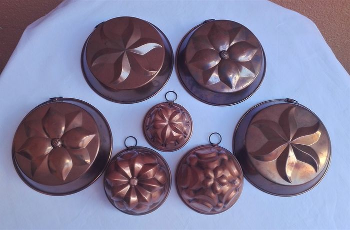 Copper molds (7) - Copper