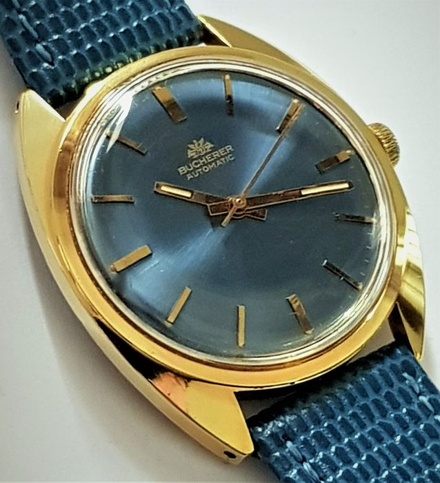 "Bucherer - Automatic ""NO RESERVE PRICE"" - Heren - 1970-1979"