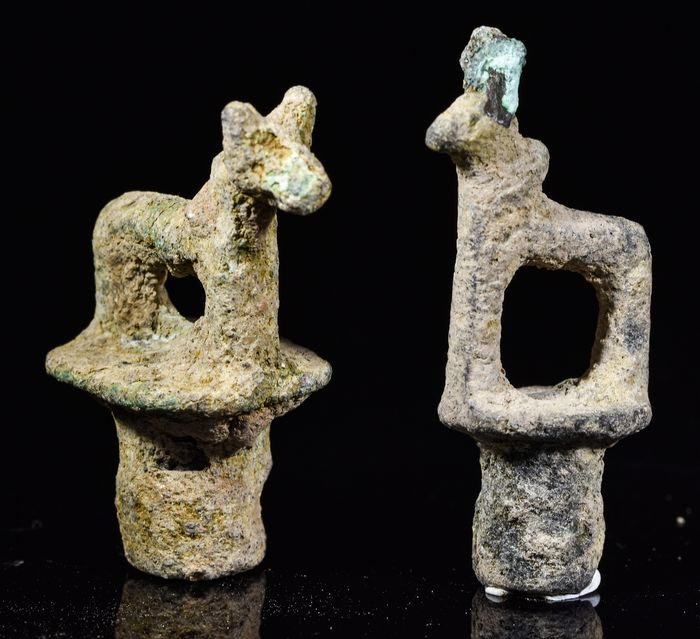 Luristan Bronze Animals Amulets - Catawiki