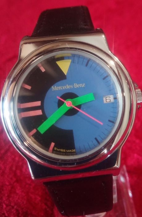 Horloge - MERCEDES-BENZ by FORTIS - Limited Édition N° 560.20.132 - Made in Suisse - 1992