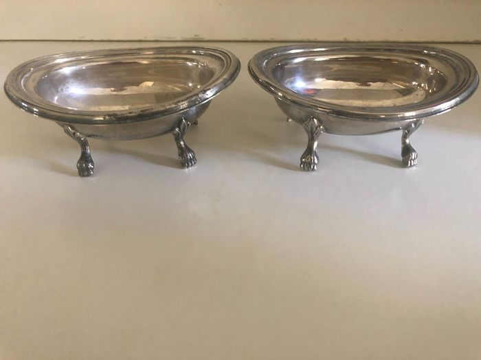OLR - Salt and pepper (2) - Art Deco - Silverplate