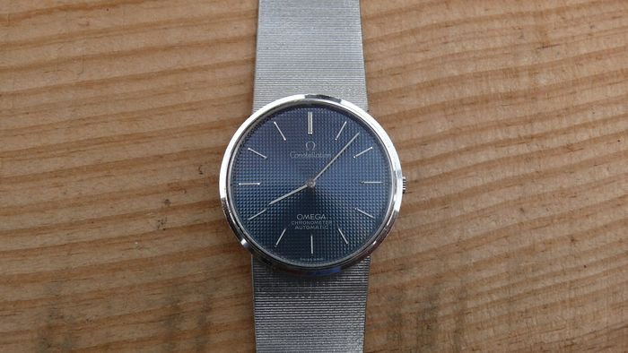 """Omega - Constellation Chronometer Automatic - """"NO RESERVE PRICE"""" - 1218640025000 - Homme - 1980-1989"""