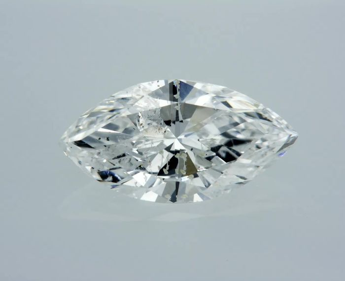 1 pcs Diamante - 1.15 ct - Marquesita - E - SI2