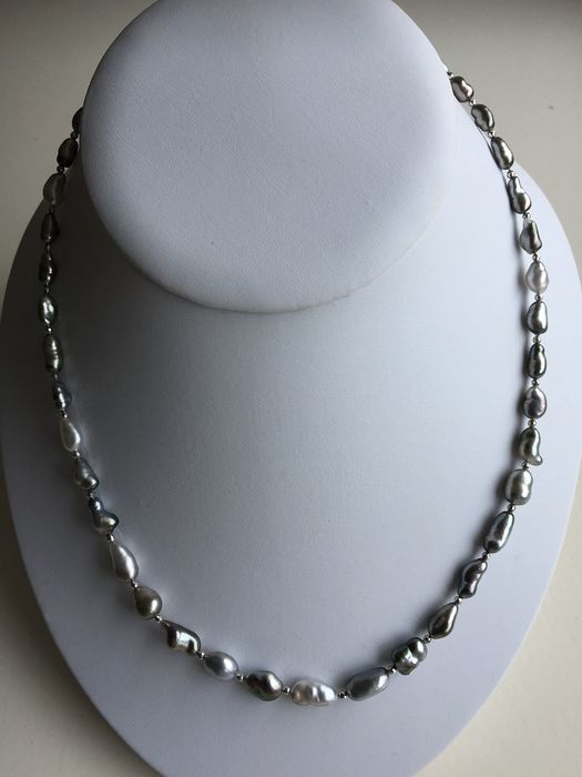 18 kt. Keshi pearls - Necklace