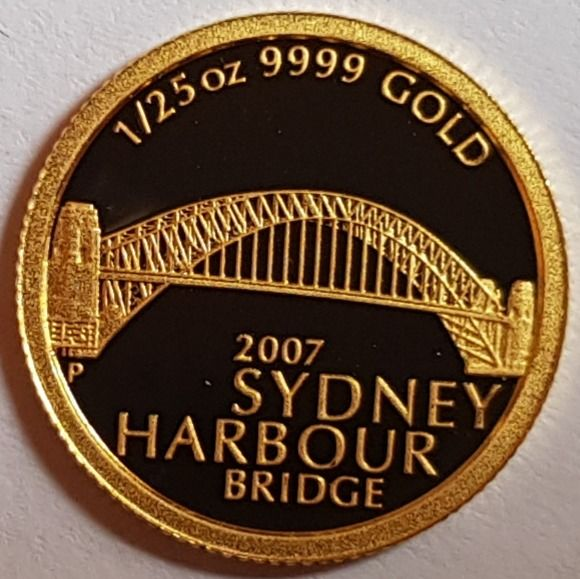 Australië - 5 Dollar 2007 'Sydney Harbour Bridge' 1/25 oz  - Goud