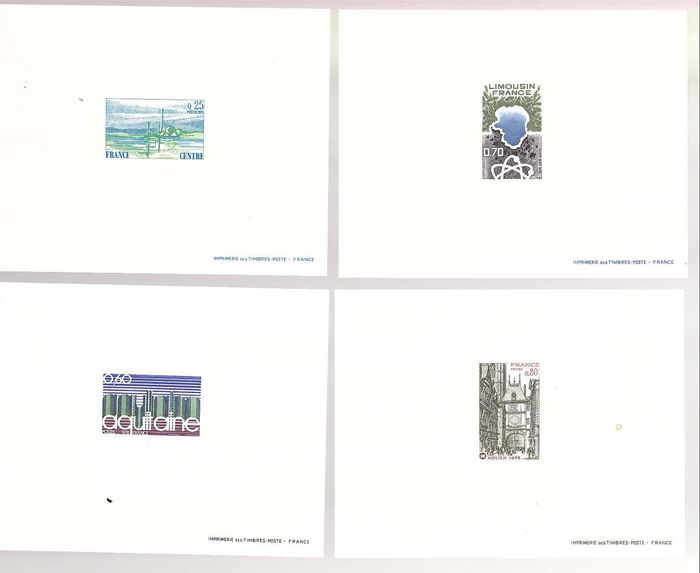 Frankreich 1976 - 32 deluxe proofs from the year - Yvert entre 1863 & 1913