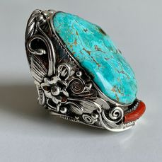 Ring - .925 silver - Navajo - United States of America
