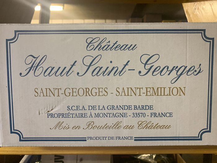 2004 Bordeaux, Chateau Haut Saint Georges, Saint-Emilion - Burdeos - 6 Botellas (0,75 L)