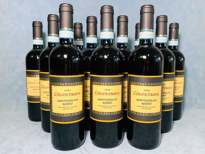 2010 Colpetrone Montefalco Rosso Doc - Umbria - 12 Bottles (0.75L)
