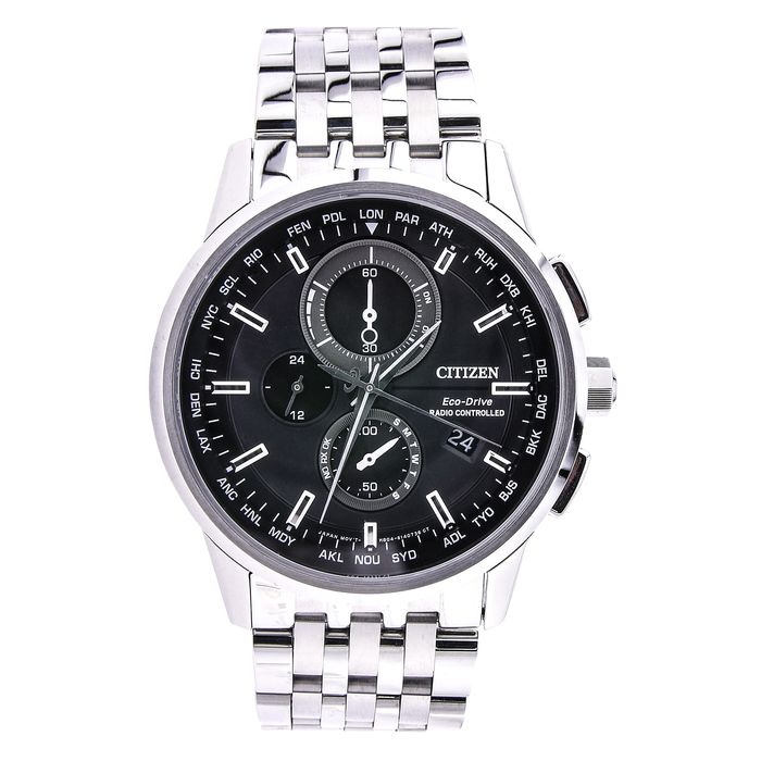 Citizen - AT8110-61E ECO-DRIVE RADIO CONTROLLED CHRONO SAPPHIRE - Herren - 2011-heute
