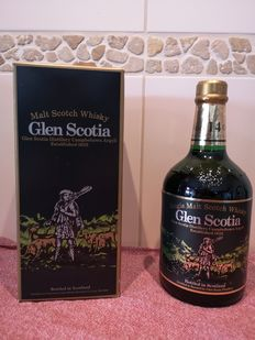 Glen Scotia 14 years old - Original bottling - b. 1990-talet - 70 cl