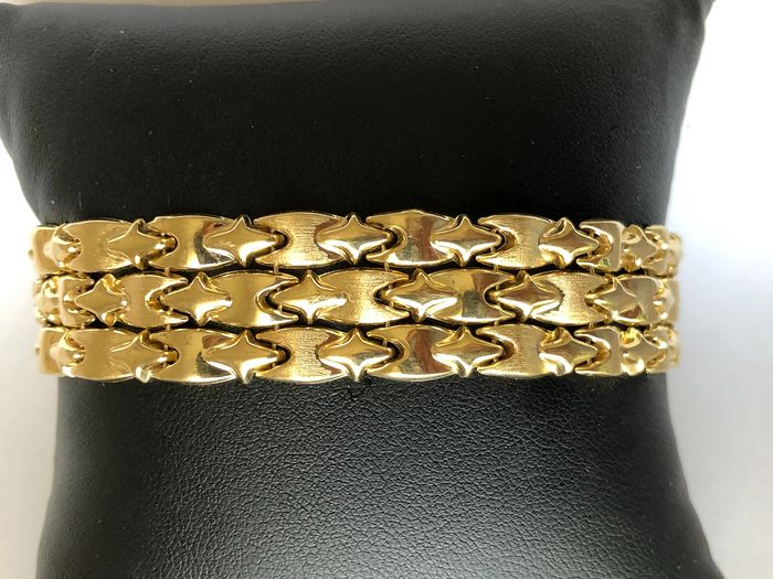 18 kt. Yellow gold - Bracelet, Weight 25.44 gr