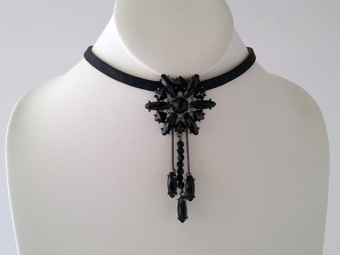 Givenchy Choker ketting in leerstof