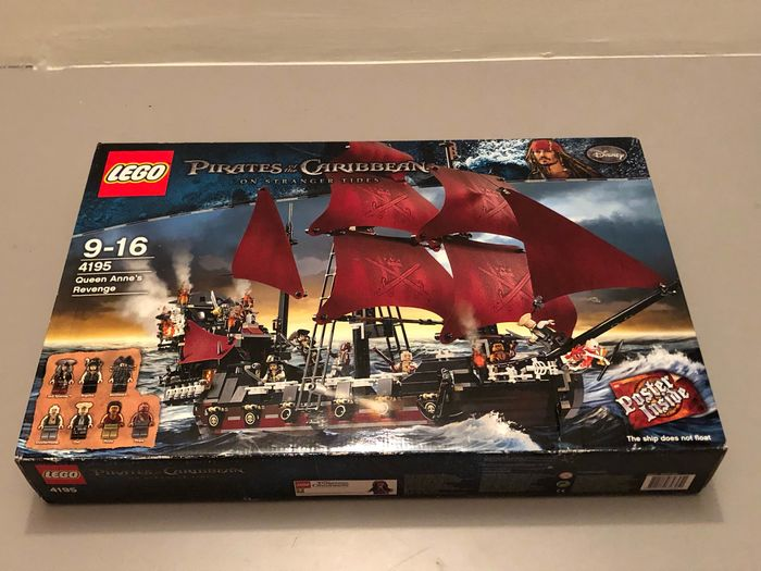 LEGO - Pirates of the Carribean - 4195 - navire Queen Anne's Revenge