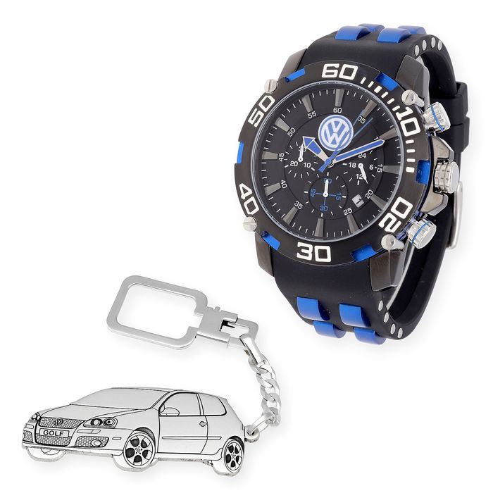 Watch & Key-Ring - Volkswagen - Volkswagen Golf - 2018-2018