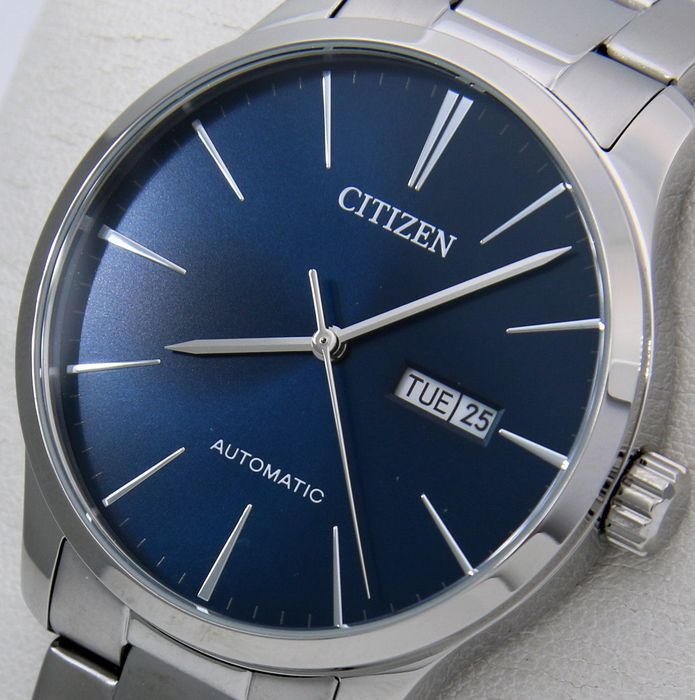"Citizen - Automatic Day/Date ""Elegant Blue Dial"" - - ""NO RESERVE PRICE"" - - Men - 2019"