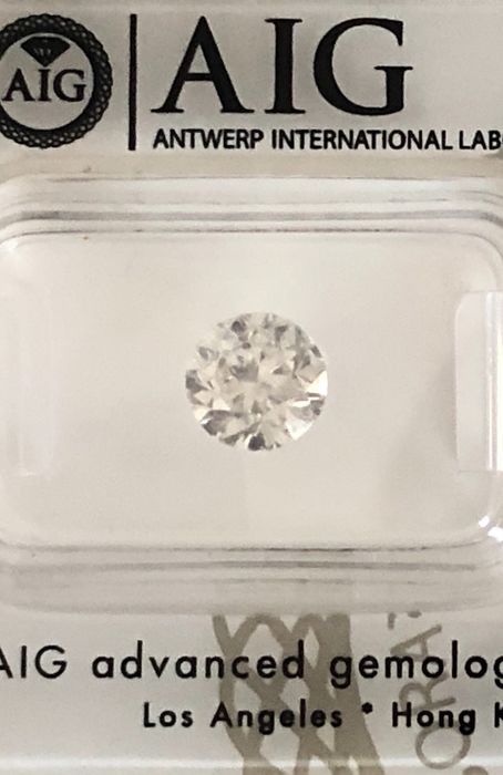 1 pcs Diamant - 1.50 ct - Briljant - G - P1