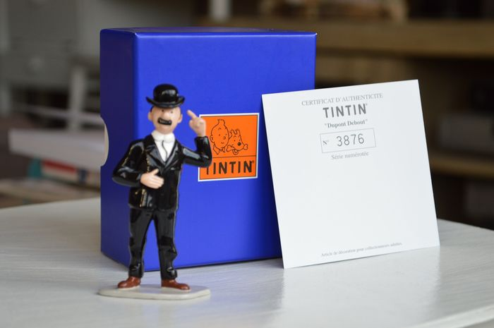 Tintin -  Statuette Moulinsart 46931 - Dupont debout  - First edition - (2000)