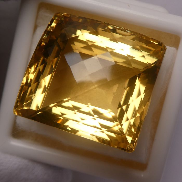 Citrin - 80.36 ct