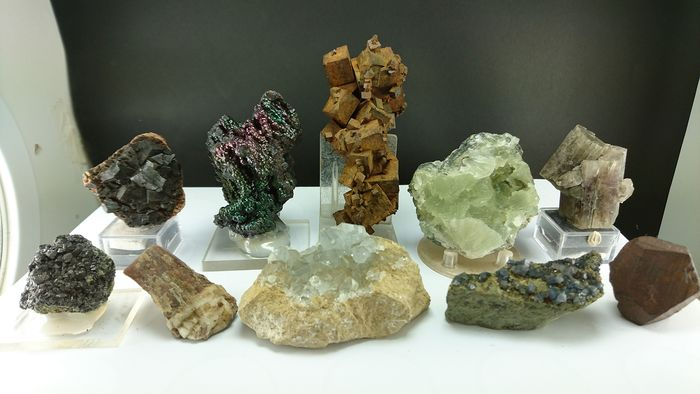 Minerals from Spain - Crystal on matrix - 9.7×0×0 cm - 1600 g - (11)