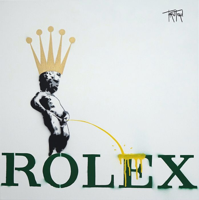 Truteau  - The Manneken-Pis on Rolex