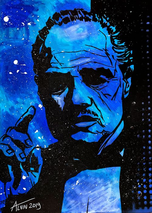 Alvin Silvrants - Godfather Vito Corleone Marlon Brando