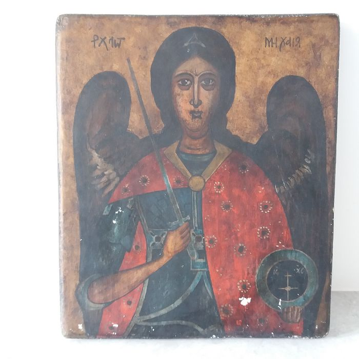 Icon of the Archangel Michael - Wood