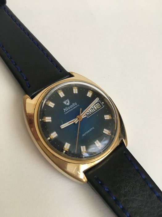 Nivada - Automatic Gold Plated - Men - 1970-1979 - Catawiki