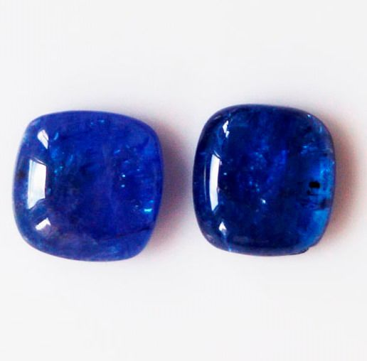 2 pcs  Tanzanite - 11.60 ct