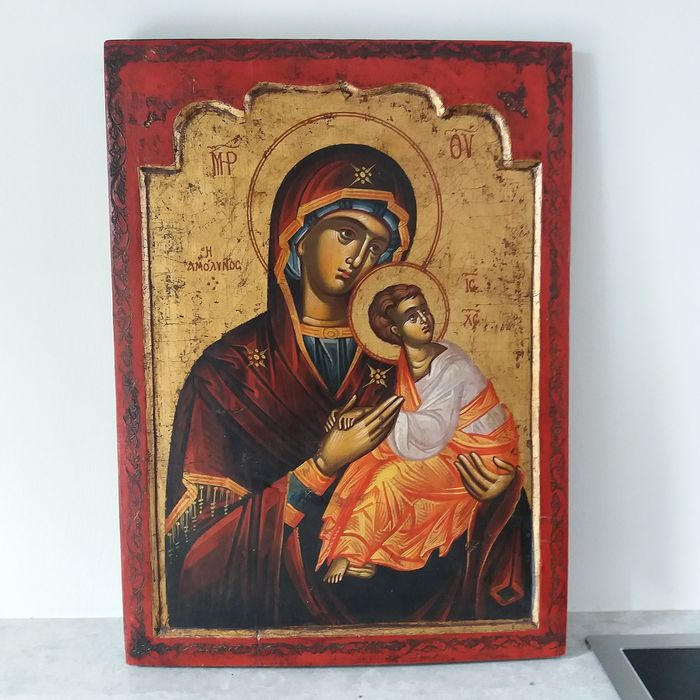 Icon Mother of God of Kazan - Wood