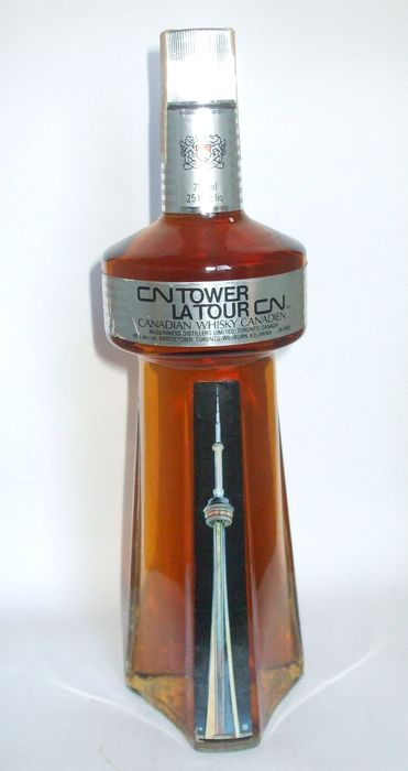 McGuinness Distillers - CN Tower 1973 La Tour CN Canadian Whisky - 710 ml