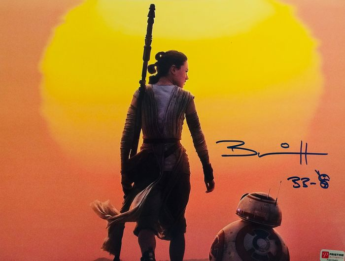 - Star Wars - Brian Herring BB8 - Signed Photo ( 28 x 35 cm ) with Certificate Authenticity