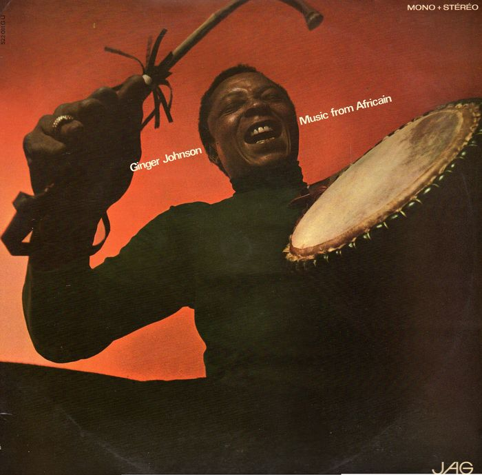 Ginger Johnson and his African Messengers - Music From Africain - LP Album - 1967/1967