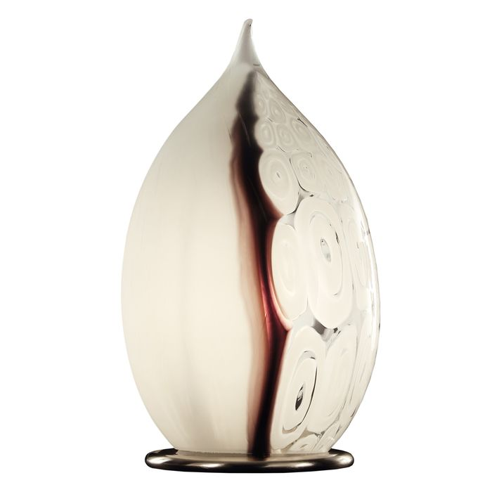 Eros Raffael - Lamp, lamp base in Murano glass of contemporary and original shape. Single piece