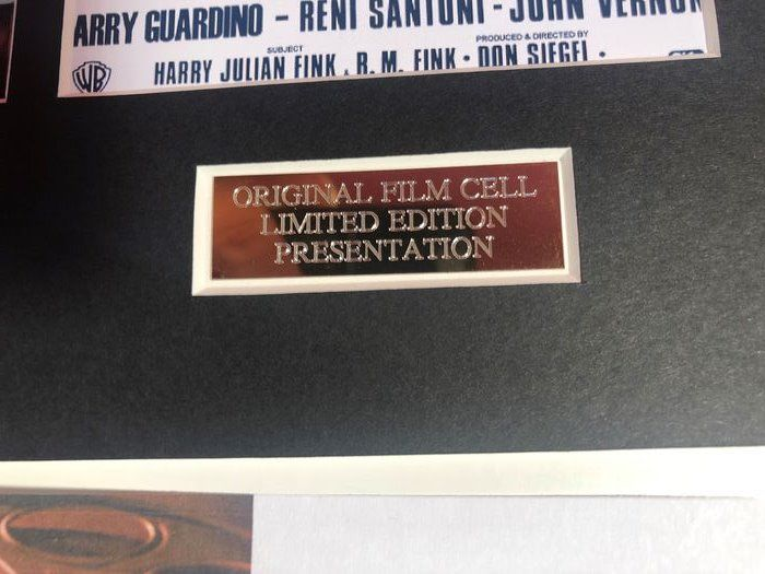 Clint Eastwood Limited Edition film Cell m