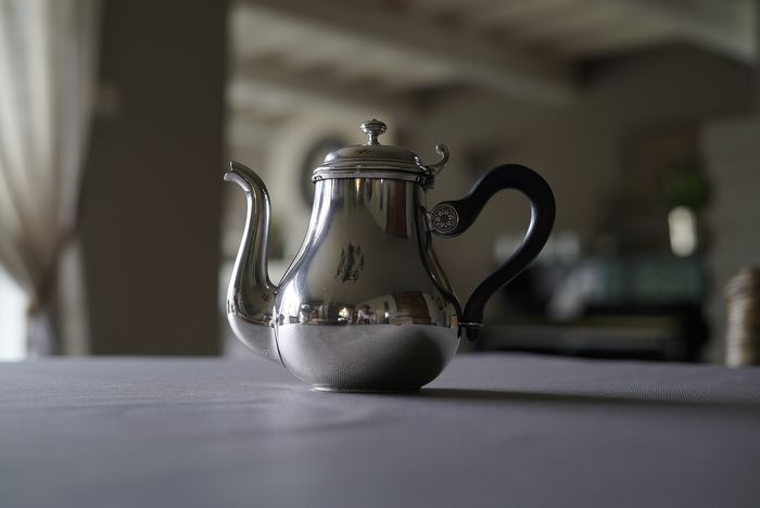 Teapot - Silverplate - France - Late 20th century