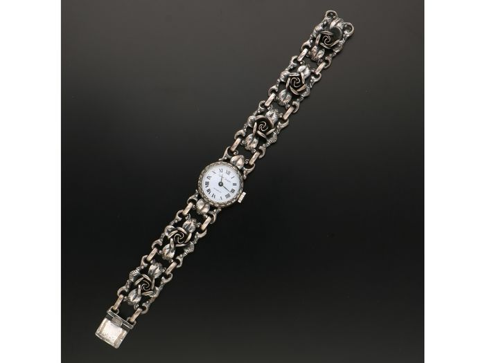 Bijoux Jacques - Incabloc - 835 Silver - Watch