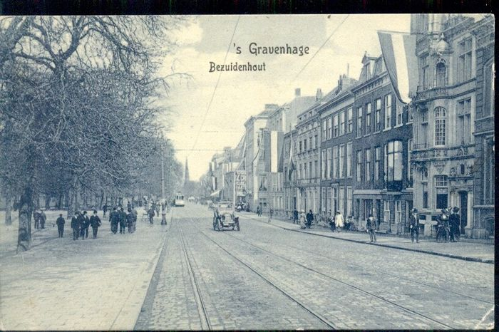 Netherlands - The Hague / Scheveningen - old and very old cityscapes - With booklet - Postcards (Collection of 76) - 1900-1950