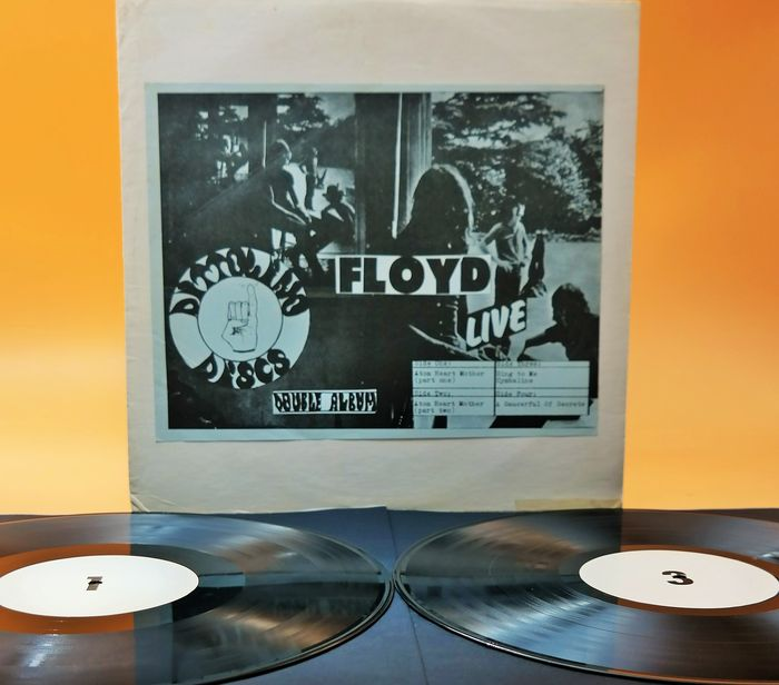 Pink Floyd - The ultrarare /  Floyd‎– Live from 1970 Santa Monica Civic Auditorium /Nearly 50 years great sound ! - 2xLP Album (double album) - 1975