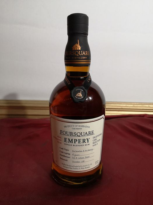 "Foursquare 14 years old - ""Empery"" - Ex-Bourbon & Ex-Sherry Casks - Mark IX - 70cl"