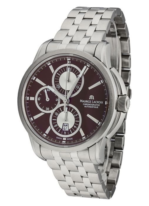 Maurice Lacroix - Pontos Chronograph - PT6188-SS002-730 - Heren - 2011-heden