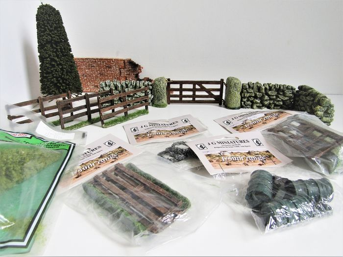 J.G. Miniatures - Decoratiemateriaal voor diorama's - ao for King & Country in de schaal 1:30 - 2000-Present - U.K.
