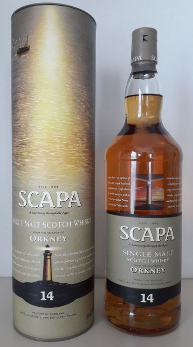 Scapa 14 years old - b. 2000s to today - 1.0 Litre