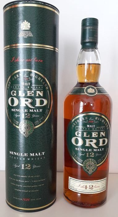 Glen Ord 12 years old - b. Jaren 1990 - 1,0 Liter
