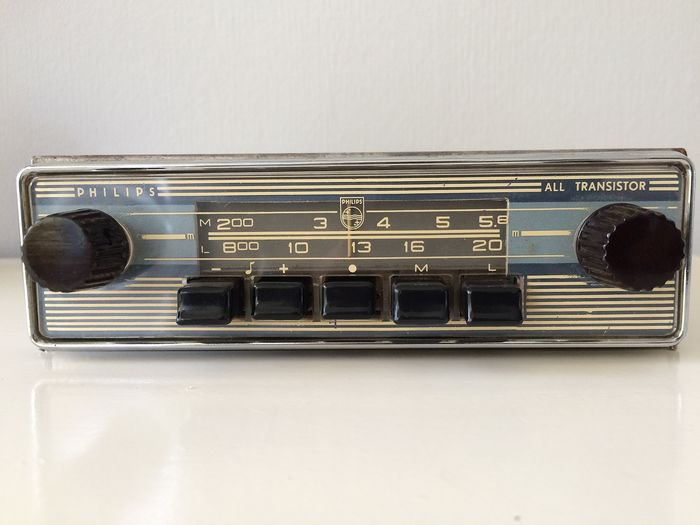 Philips classique MW / LW - type N4X24T - 6V/12V - 1962-1963