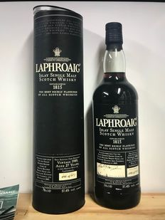 Laphroaig 1980 27 years old - Original bottling - b. 2000s to today - 0.7Ltr