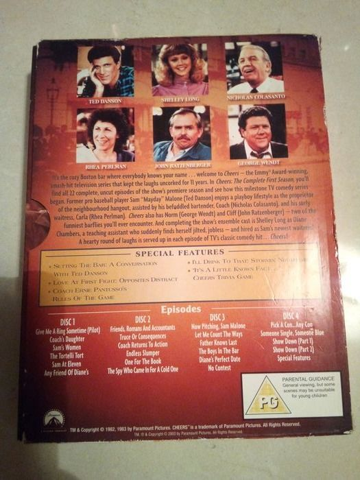 Classic TV - Cheers - Cast Photo signed by George Wendt