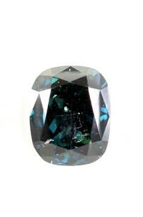 Diamant - 1.02 ct - Cushion - SI1