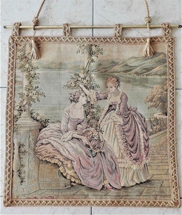 Tapestry - Canvas - Years 50/60 Italy