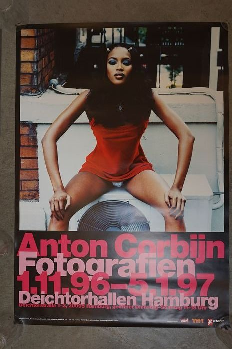Anton Corbijn - 2 posters, 1 book, 2 press photos, 2 cards, 1 magazine, 1 DVD